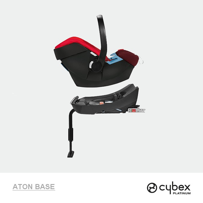 cybex aton base 2 fix baza isofix do aton 4 5. Black Bedroom Furniture Sets. Home Design Ideas