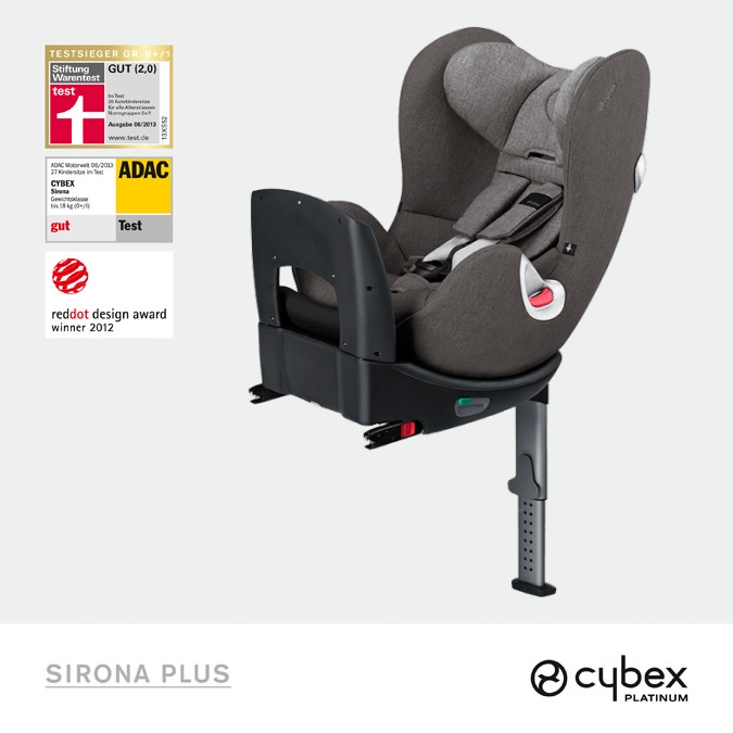 Fotelik Cybex Sirona Plus Manhattan Grey